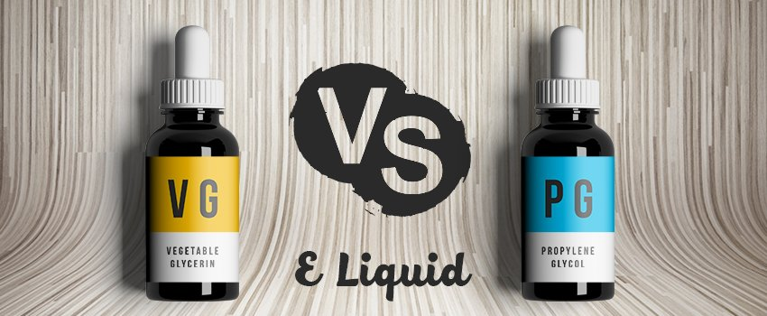 PG and VG Vaping – Propylene Glycol and Vegetable Glycerin