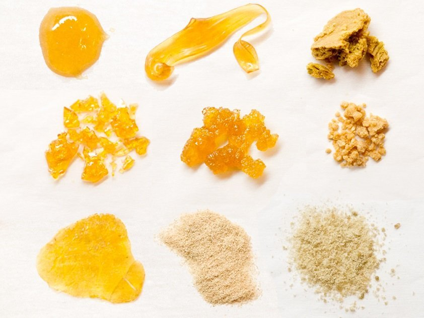14 Different Kinds of Weed Concentrates | The Kind Pen
