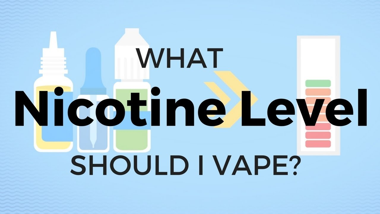 Vape Juice Nicotine Levels for Dummies | The Kind Pen